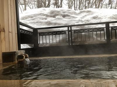 ニセコ昆布温泉鶴雅別荘杢の抄3F岩高蘭_客室温泉露天風呂2