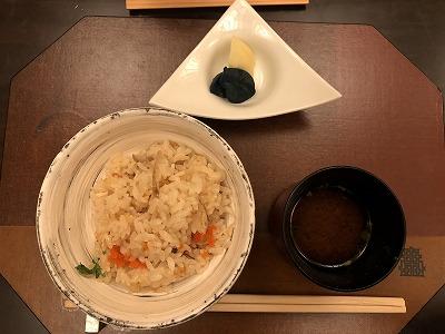 ニセコ昆布温泉鶴雅別荘杢の抄の夕食メニュー_食事