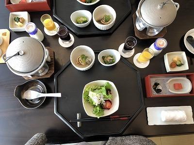 ニセコ昆布温泉鶴雅別荘杢の抄朝食_最初のセット