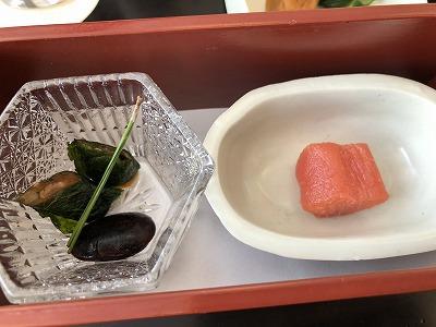 ニセコ昆布温泉鶴雅別荘杢の抄朝食_タラコ