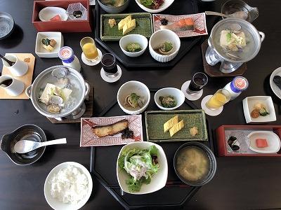 ニセコ昆布温泉鶴雅別荘杢の抄朝食_フルセット