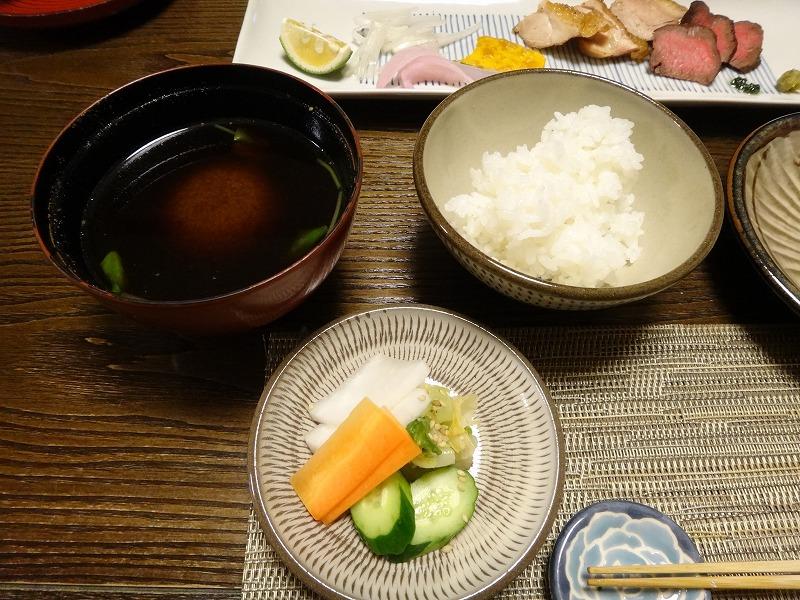 由布院わらび野食事夕食_ごはんセット