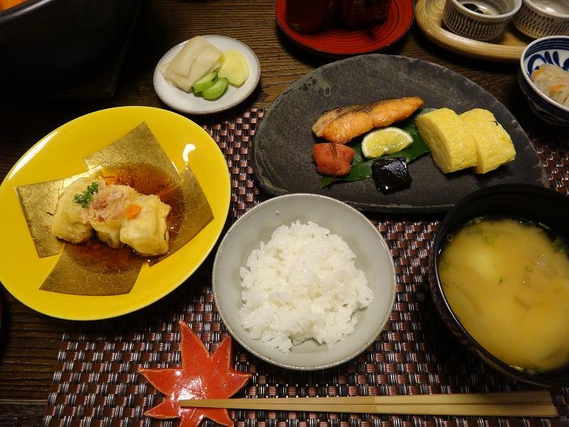 由布院わらび野食事朝食_ごはんセット