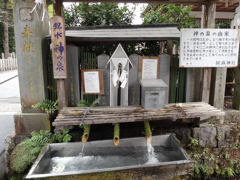 肥後一の宮 阿蘇神社_神の泉