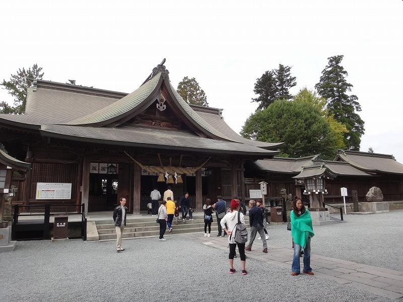 肥後一の宮 阿蘇神社_拝殿