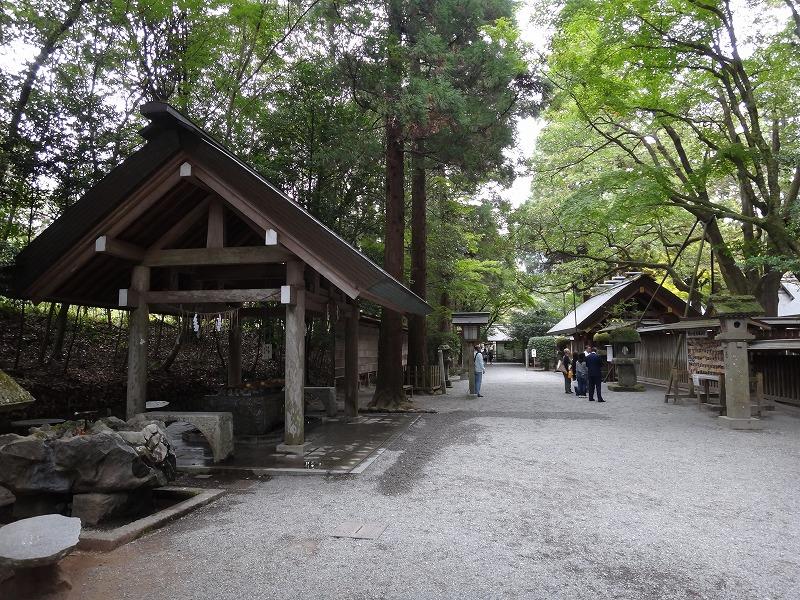 天岩戸神社 西本宮_手水舎