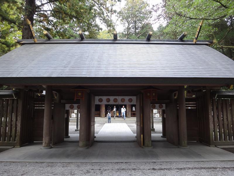 天岩戸神社 西本宮_門