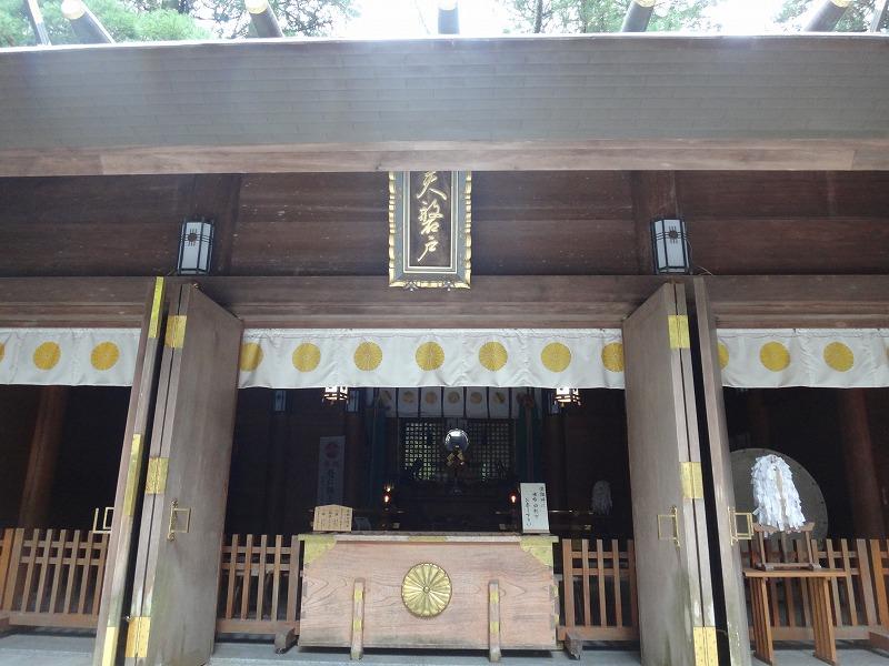 天岩戸神社 西本宮_社殿