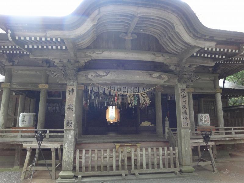 天岩戸神社 西本宮_崇拝所