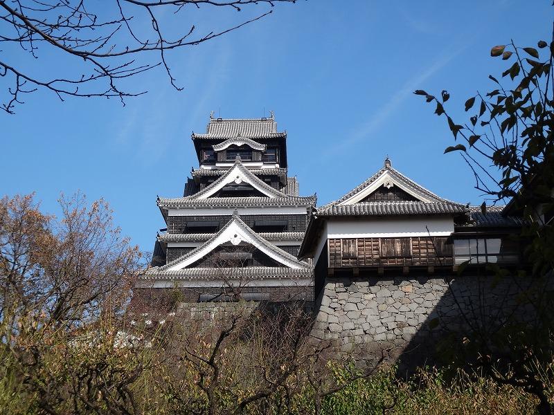 【熊本城復興祈願】熊本城_石垣と天守閣2