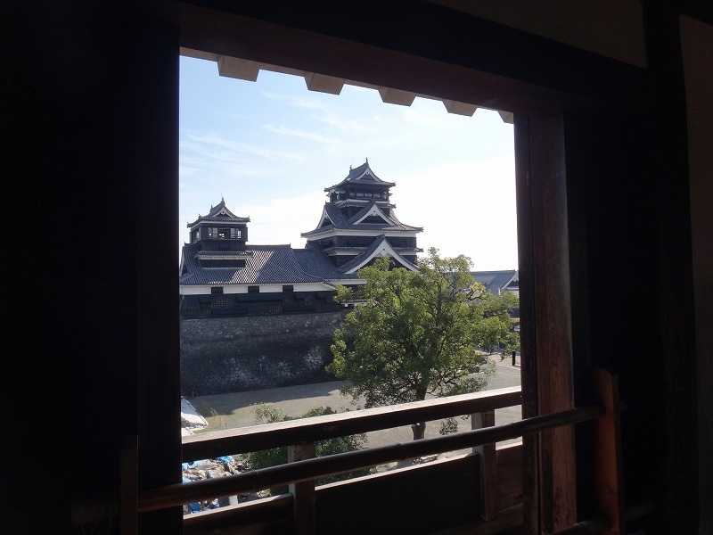 【熊本城復興祈願】熊本城_宇土櫓から見た天守閣