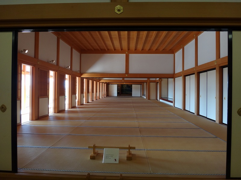 【熊本城復興祈願】熊本城_天守閣の中にあった大広間