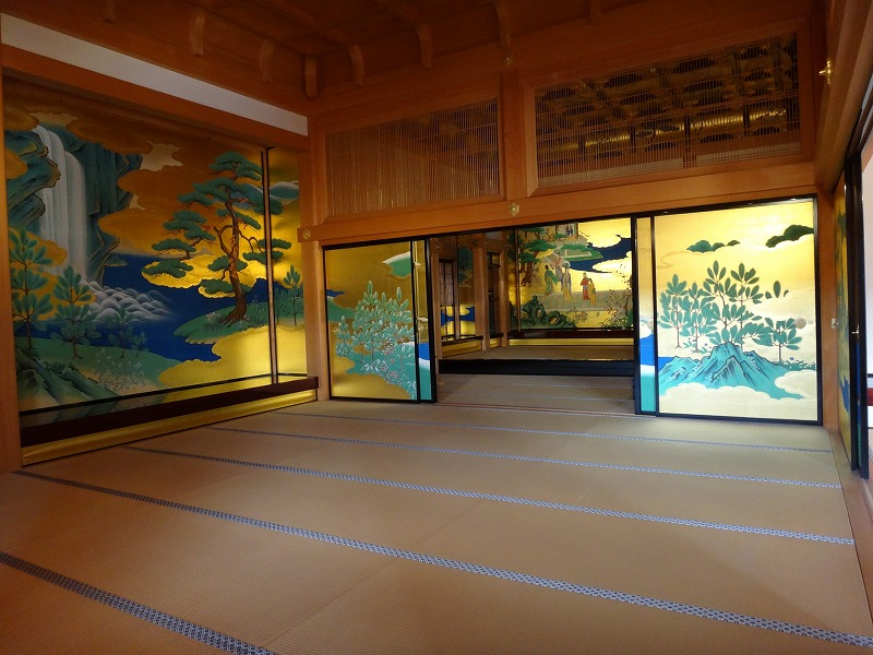 【熊本城復興祈願】熊本城_天守閣大広間一番奥の部屋