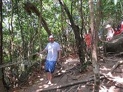 シミラン諸島ツアーNo.8シミラン島_森を歩く