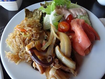 センシマーカオラック朝食ブッフェ_ある日の朝食