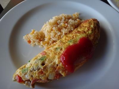 センシマーカオラック朝食ブッフェ_ある日の朝食エッグ
