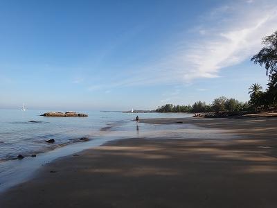 センシマーカオラック ゴールデンサイズビーチ_海岸線