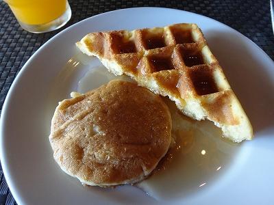 センシマーカオラック朝食ブッフェ_ある日の朝食デザート