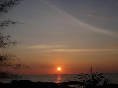 センシマーカオラック ゴールデンサイズビーチ_サンセット2