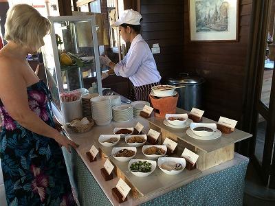ザ サンズ カオラック バイ カタタニ リゾート朝食メニュー_麺コーナー