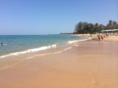 ザ・サンズ カオラック_ゴールデンサンズビーチの砂浜