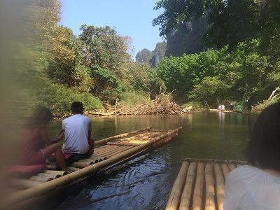 カオラックオプショナルツアー|PMバンブー筏川下り_風景2