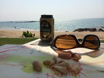 ザ・サンズ カオラック_ゴールデンサンズビーチでチャンビールの写真1