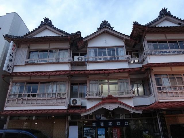 伊勢神宮外宮参拝_参道にあった日本旅館