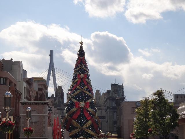 USJユニバーサルスタジオジャパン大阪_巨大クリスマスツリー