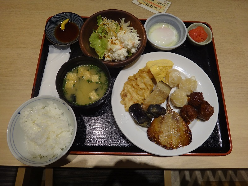 ホテルフォルツァFORZA博多筑紫口_朝食お品4