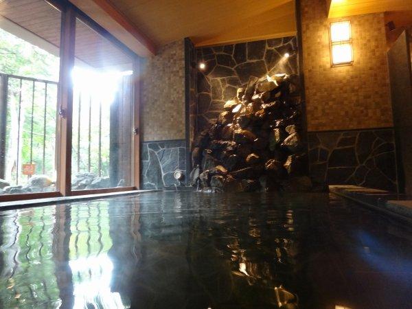 北海道の温泉ラビスタ阿寒川天然温泉大浴場_男湯内風呂