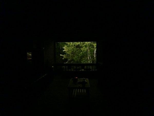 カムイの湯ラビスタ阿寒川_お部屋の夜景