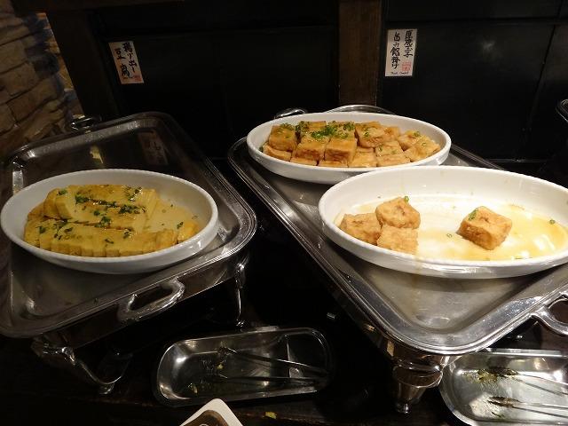 ラビスタ大雪山2016年4月朝食和洋バイキング料理_卵と豆腐料理