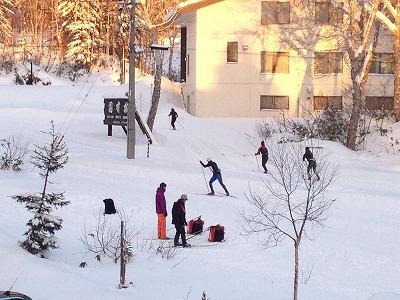 ラビスタ大雪山マウントビューツイン客室_外の景色