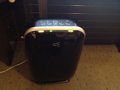 ラビスタ大雪山マウントビューツイン客室アメニティ_空気清浄機付き加湿器