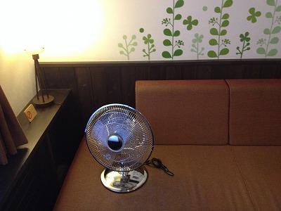 ラビスタ大雪山マウントビューツイン客室アメニティ_扇風機