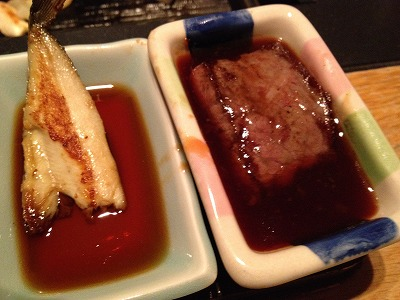 ラビスタ大雪山夕食レストランヌプリ狩人焼コース_鉄板で焼く4