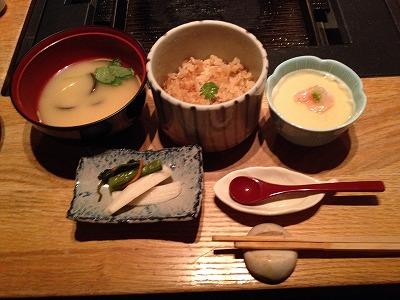 ラビスタ大雪山夕食レストランヌプリ狩人焼コース_〆のお食事