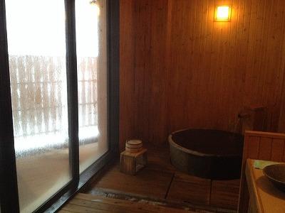 ラビスタ大雪山貸し切り風呂くぽの湯_内風呂