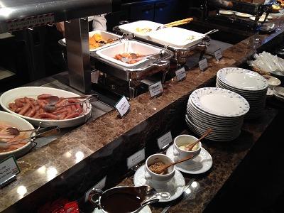 ラビスタ大雪山2013年11月朝食_和洋バイキング料理1