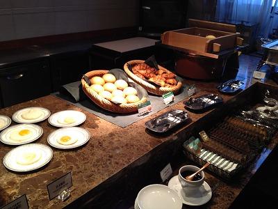 ラビスタ大雪山2013年11月朝食_和洋バイキング料理2