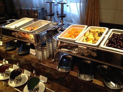 ラビスタ大雪山2013年11月朝食和洋バイキング料理_フルーツ