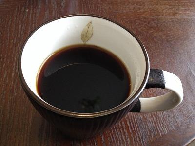 ラビスタ大雪山お部屋コーヒーセット_コーヒー完成