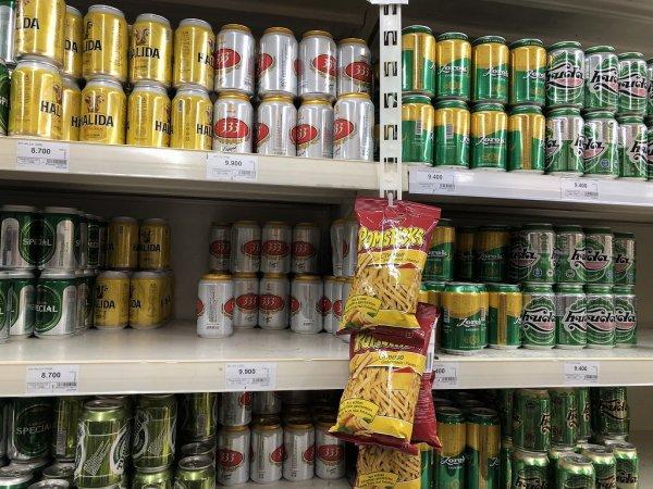 ダナンのスーパー1.ビッグC(BigC)_ローカルビール価格