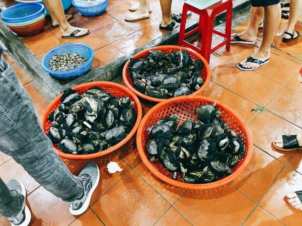 ベトナム・ダナンのローカルシーフードレストラン_タインヒエン2(Thanh Hien2)_渡り蟹