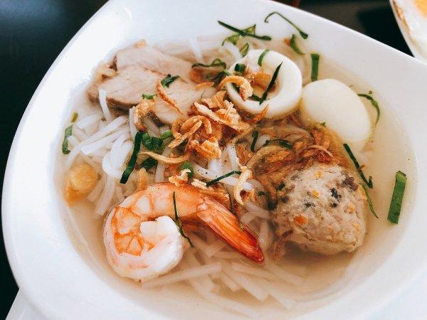 フュージョンマイアダナン朝食ブッフェ_麺料理3