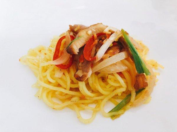 フュージョンマイアダナン朝食ブッフェ_麺料理4