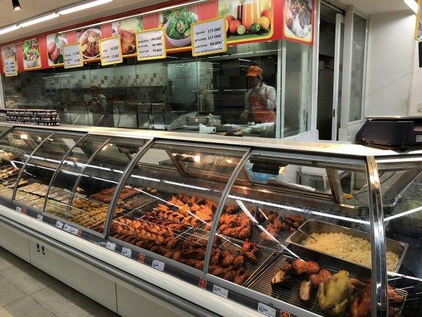 ダナンのスーパーヴィンマート(Vin Mart)_お惣菜価格
