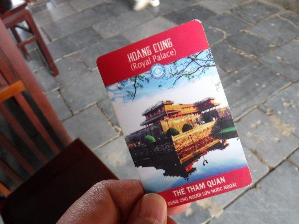 ベトナムフエ1日観光|世界遺産グエン朝王宮_入場チケット