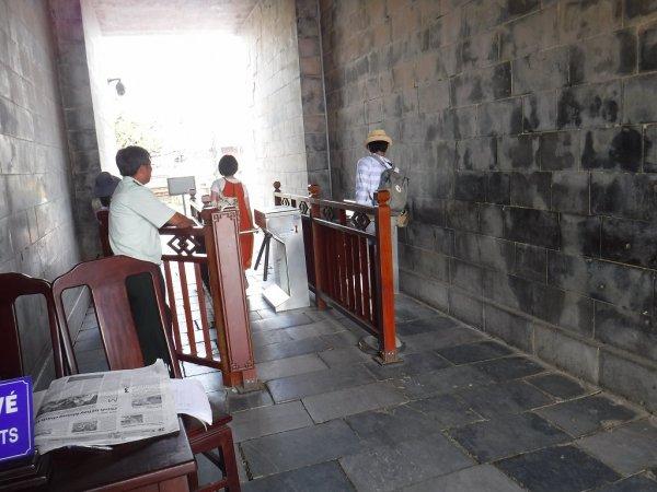 ベトナムフエ1日観光|世界遺産グエン朝王宮_入場ゲート